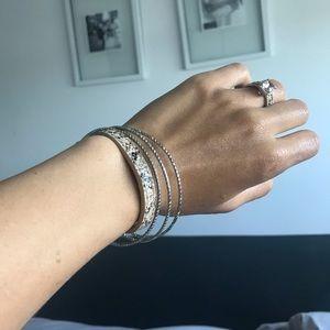 Snakeskin Magnetic Bracelet